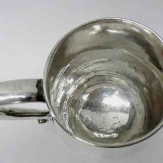 George II Silver Mug by Paul de Lamerie