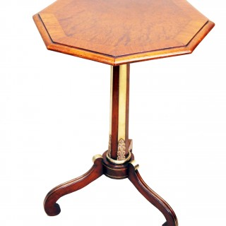 Antique Regency Rosewood & Thuya Occasional Table