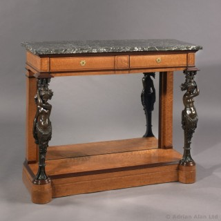 Restoration Period  Console Table Of Royal Provenance