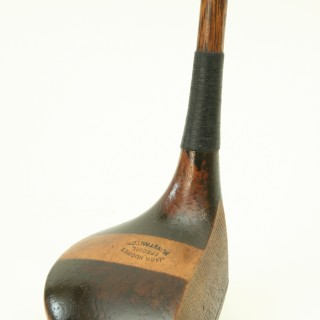 HICKORY GOLF CLUB, DRIVER FROM HUNSTANTON