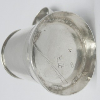 Antique George I Silver Pepper
