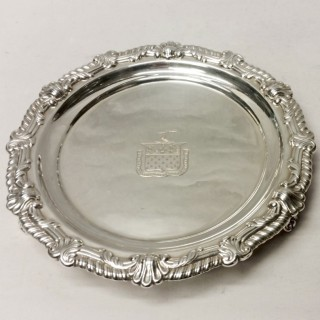 Pair of George III Silver Salvers