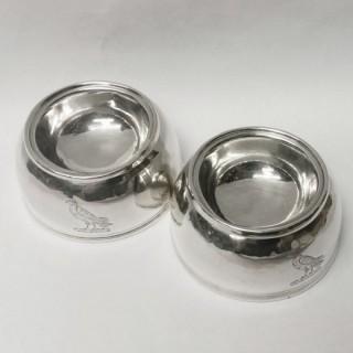Queen Anne Silver Trencher Salts