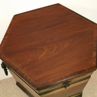 George III Scottish Mahogany Wine Cooler