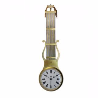 Double Dial Swinging Pendulum Clock