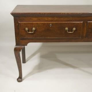 A George II Period Oak Dresser Base