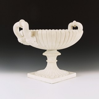 18th Century Grand Tour Carved Marble Tazza