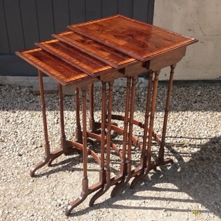 Early Nineteenth Century Antique Nest Of Tables