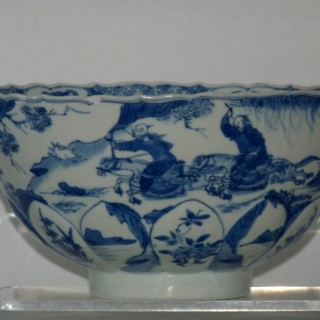 kangxi Blue and White Porcelain Bowl