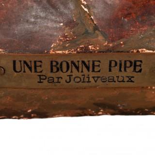 Plaster Bust by A. Joliveaux