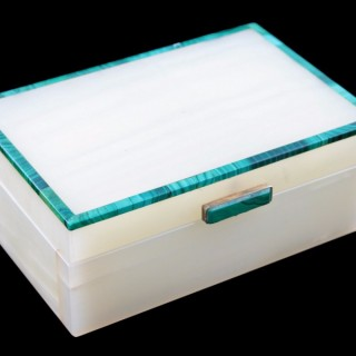 Onyx & Malachite Box