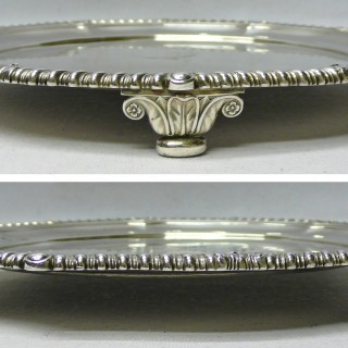 George III Silver Salver by Paul Storr