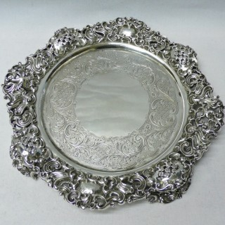 Antique Silver Salvers by Paul Storr