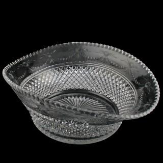 Victorian Cut Crystal Bowl