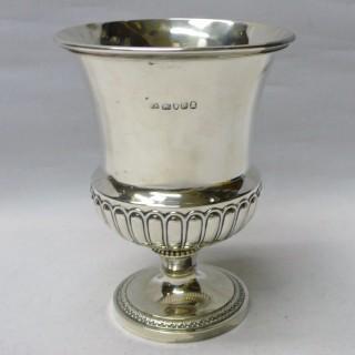 Georgian Silver Goblet
