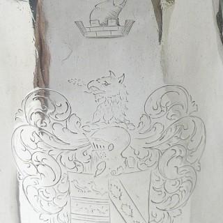 Queen Anne Silver Coffee Pot
