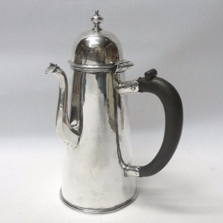 Queen Anne Silver Coffee Pot