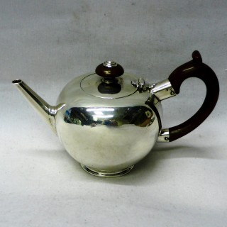 George I Silver Bullet Teapot