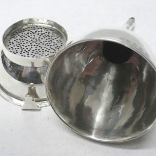 Antique Silver Wine Funnel