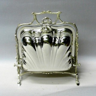 Victorian Folding Biscuit Box