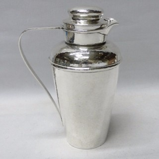 Vintage Silver Cocktail Shaker