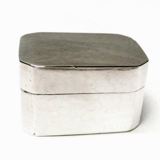 Georgian Silver Nutmeg Grater