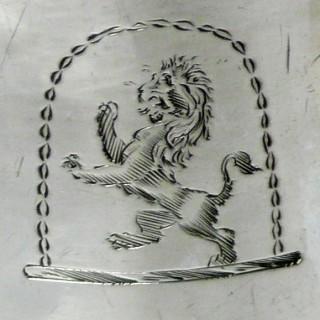 Antique Queen Anne Silver Caster