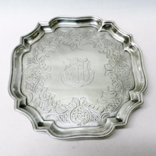 Antique George I Silver Salver