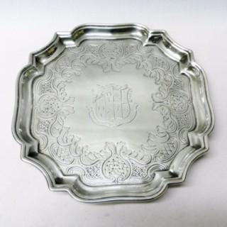 Antique George I Silver Salver