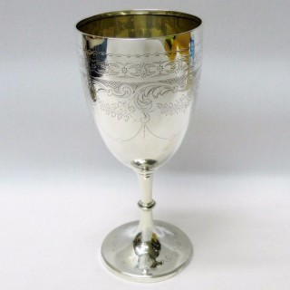 Antique Silver Goblet