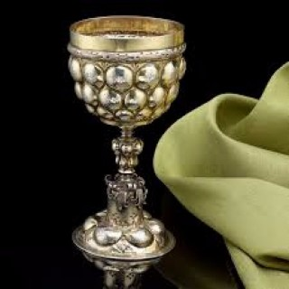 A Silver Gilt Wine Cup