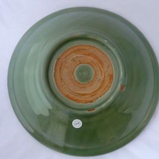 Ming Celadon Deep Charger / Saucer plate