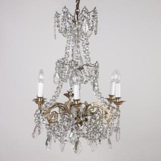 Victorian Crystal Chandeleir
