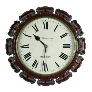 Victorian Fusee Wall Clock