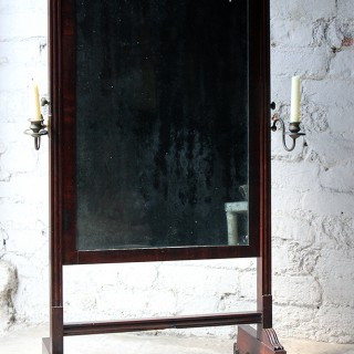A Rare Mid-19thC Child's Cheval Mirror c.1860