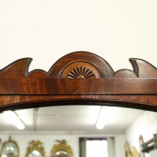 George IV Mahogany Cheval Mirror