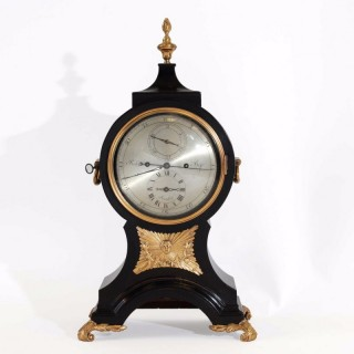 Ebonised Bracket Clock with Regulator dial, Robert Best, London