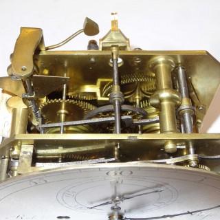 Ebonised Bracket Clock with Regulator dial, Robert Best, London