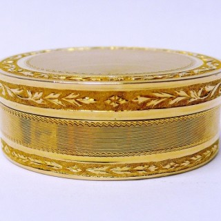 Antique French Gold Box