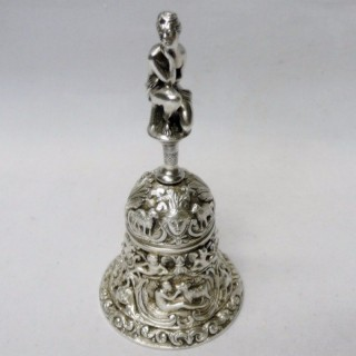 Antique Italian Silver Bell