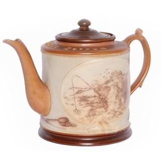 Salt Glaze Pottery Teapot