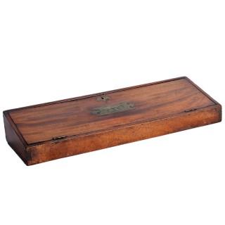 George III Mahogany Deed Box