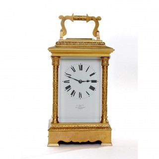 Giant Carriage Clock Timepiece