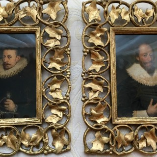 Pair Of Portraits Of Sir John Gordon And Robert Gordon