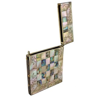 Victorian Mother of Pearl Card case