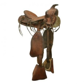 Vintage Child's Western Saddle.