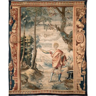 ENGLISH MYTHOLOGICAL TAPESTRY, MORTLAKE circa 1690