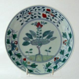 Kangxi Doucai Plate