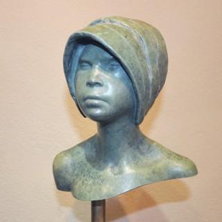 A patinated bronze sculpture by Ralph Brown R.A. (1928 – 2013)