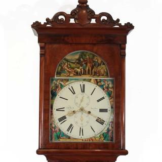 1860s Scottish 8-day longcase clock, Robert Muir of Dalry